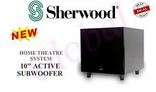 Sherwood SW10 Amplified Active Sub Subwoofer