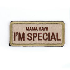 I'Am Special Tab Morale US Army Tactical Ops Isaf Multicam Hook Loop Patch