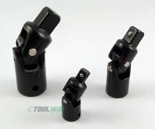 3pc Impact Swivel Universal Joint Air Impact Socket Set 1/4