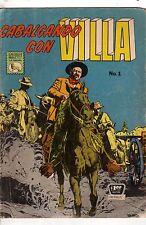 1964 Cabalgando con Villa #1 Spanish- Incruenta venganza de Villa-Extremely Rare
