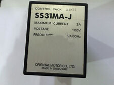 Used ORIENTAL MOTORS SS31MA-J CONTROL PACK Tested