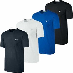 Nike Mens T Shirt Embroidered Logo Short Sleeve Cotton TShirt Tee T-Shirt Tops
