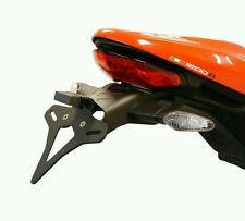 DUCATI MONSTER 1200 R TAIL TIDY 2016+ Evotech Performance short plate numbet alu