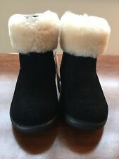 Toddler Boy Uggs Boots with Fur, Size 7.5, Side-Zip, New with Tags