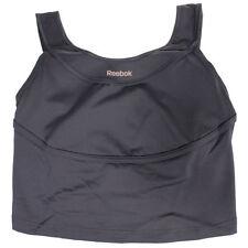 Camisetas y tops de deporte de mujer gris