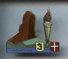 RARE PINS PIN'S .. OLYMPIQUE OLYMPIC ALBERTVILLE 92 / TORCH #9A