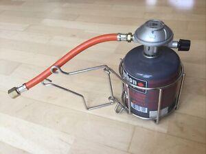 Weber Grill IQ1200 - Gas Kartusche + Kartuschen Halter + Gas Schlauch im Set
