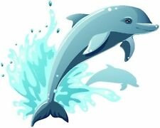 Dolphins decal Camper RV motor home mural graphic