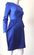 BOURNE ENGLAND  rrp $379.00 Size 10 US 6 Blue Long Sleeve Sheath Dress