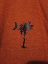 NWOT - SC PALMETTO & CRESCENT LOGO Adult Size L Burnt Orange Short Sleeve Tee