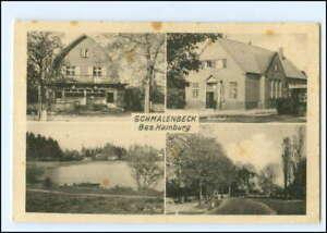 XX13710/ Schmalenbeck bei Großhansdorf Bahnhof, Deutsche Post Ak 40er Jahre