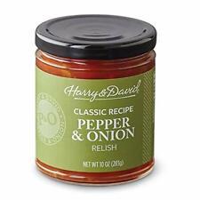 Harry & David Pepper & Onion Relish Classic Recipe 10oz