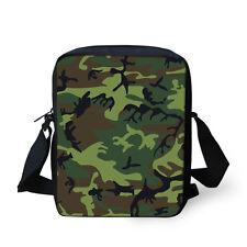 Camouflage Cross Body Bag Small Messenger Shoulder Bag Fashion Handbag Satchel