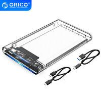 "ORICO USB C 3.1 Hard Drive Enclosure Type C to TypeC External 2.5"" HDD Case UASP"
