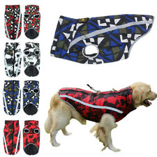 Pets Clothes for Large Dogs Small Medium Dog Coat Waterproof Jacket Boxer M-5XL