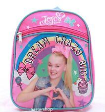 "JoJo Siwa Girls Toddler Small School Backpack Book Carry Bag Play Fun Kids 10"""