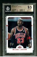 2006-07 Fleer #27 Michael Jordan BGS 9.5 BULLS VERY NICE GEM MINT MJ CARD !
