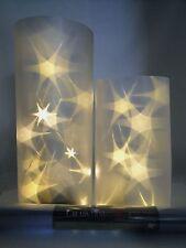 3m X 33cm Lichteffekt Folie 3d Stern Sterne LED Lichterkette Batterie Hologramm