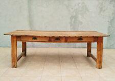 Table de ferme en mélèze XIXème