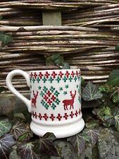 Emma Bridgewater Christmas Jumper Half Pint Mug - new & 1st