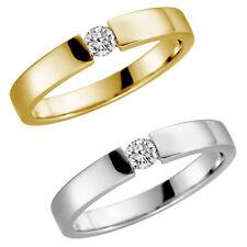 9 Karat 375 Gelbgold Weißgold Spannring Ehering Verlobungsring Antragsring