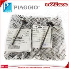 Kit Valvole Aspirazione Scarico Originale Aprilia Scarabeo Light 200 2007 - 2012