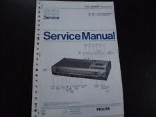 Original Service Manual Philips 22AH871