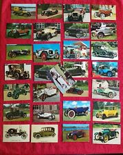 More details for 29 vintage postcards of 29 vintage cars unused in good to very good condition