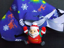 Jouet kinder décoration de Noël avec parachute Père Noël DC137 France 2011