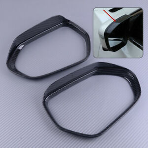 Rearview Mirror Rain Water Eyebrow Cover Side Shield fit forToyota Corolla 2019