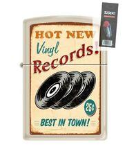 Zippo 207 RECORDS VINTAGE hot new vinyl best music poster Lighter + FLINT PACK
