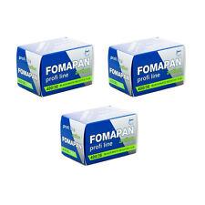 3 Rolls x FOMAPAN 400 Profi Line Action 135 35mm 36exp Black & White Film FOMA