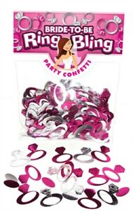 Ring Shape Confetti Bride to Be Bridal Shower