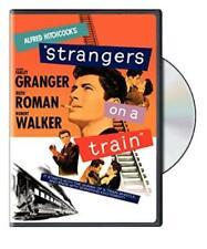 Strangers On A Train Dvd Video Movie Alfred Hitchcock Farley Granger Walker 1951
