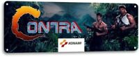 Contra Classic Konami Fight Arcade Marquee Game Room Wall Decor Metal Tin Sign