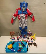 Lot of Transformers: 6 Dinobots 6 Happy Meal, 10 Numberbots 0-9, Fighter & Parts