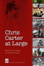 Chris Carter at Large – Stories from a lifetime in motorcycle racing book paper