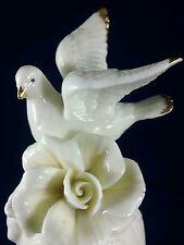 Cracker Barrel Dove Bell Hand Made Rose Design Nib Elegant Collection New