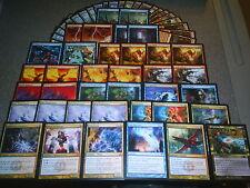 MTG Magic WEE DRAGONAUTS / KILN FIEND DECK Izzet Prophetic Bolt Lightning Lot