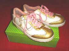 Nobile Southpole Sneakers Rockabilly Boho romanticismo BIANCO-ORO 38 NUOVO!!! TOP!!!