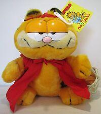 "1981 8"" Plush Stuffed Animal Toy Doll Garfield Red Riding Hood Dakin Furry Tales"