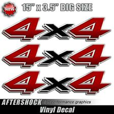 4x4 truck replacement stickers dakota durango decal red and black decals