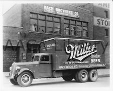 1936 Studebaker 2W785 Miller Beer Van, Truck, Factory Photo (Ref. #77947)