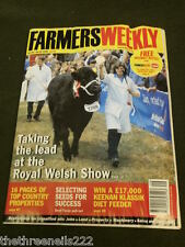 FARMERS WEEKLY - ROYAL WELSH SHOW - JULY 23 1999