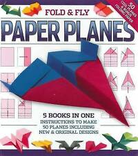 Fold and Play Paper Planes by Hinkler Books (Hardback, 2009)