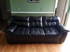 Black couch .home goods , pretty new , couch