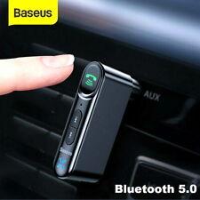 Baseus Coche Receptor Audio Inalámbrico Bluetooth 5.0 música estéreo AUX Adaptador Mic