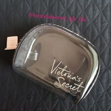 AUTHENTIC VICTORIA'S SECRET TRANSPARENT POUCH  - LEOPARD - BNWT (travel)