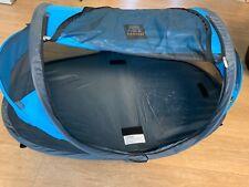Reisebett/Reisezelt Deryan in blau mit selbstaufblasender Matratze