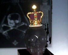 Medieval Knight Templar Memento Mori Occult Skull Royal King Death Crown Battle